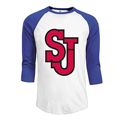 mens-ncaa-st-johns-red-storm-logo-100-cotton-3-4-sleeve-athletic-baseball-raglan-shirt-royalblue-us-
