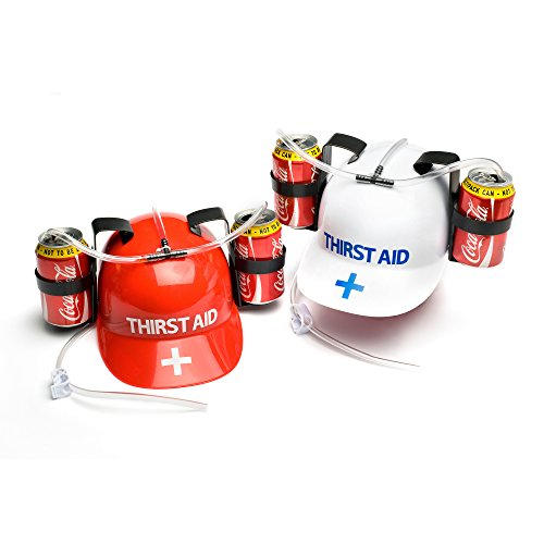 Thirst Aid Helmet Drinking Hat (colours May Vary)]()