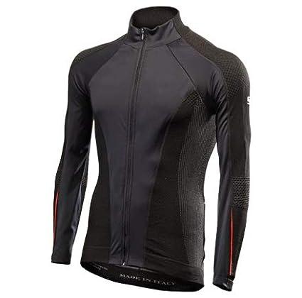 WIJELNERO SIXS SIX2 WIND JERSEY AW jersey manica lunga antivento BLACK/RED L