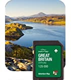 Satmap MapCard: Great Britain Whole ADV 1:25k