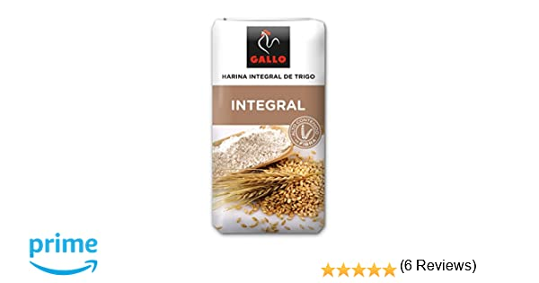 Gallo Harina Integral - 1000 gr: Amazon.es: Alimentación y bebidas