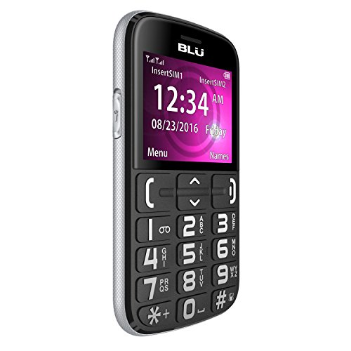 "BLU JOY - 2.4"", Factory Unlocked Phone - Black"