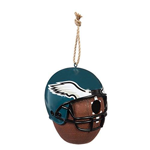 (Team Sports America Philadelphia Eagles Team Logo and Ball Hanging Birdhouse)