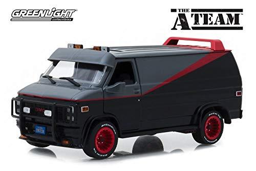 1983 GMC Vandura, The A-Team - Greenlight 84072 - 1/24 Scale Diecast Model Toy Car