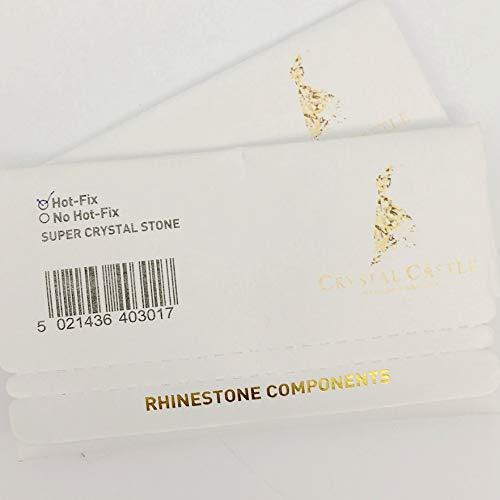 Amazon.com  Hotfix Rhinestones For Clothes 5A Best Shiny Hot Fix Strass  Hotfix Clear White Stones And Crystals Rhinestone DIY SS12 1440Pcs  Beauty 2125b245ad23
