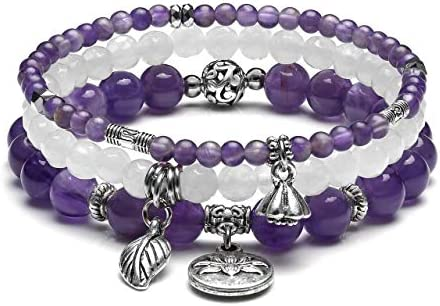Birthstone Jewelry -Brac-117 Gemstone Bangle Bracelet Pyrite Bangle Amethyst Bangle Quartz Crystal Bracelet