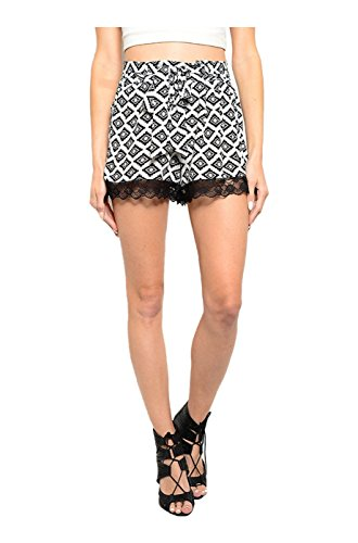 2LUV Womens Trendy Crochet Trimmed product image