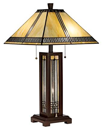 desk lamp amazon arts and crafts light table lamp with filigree shade 11638