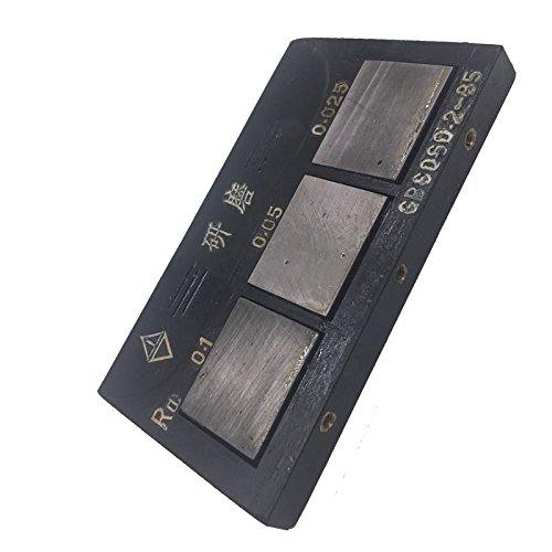 MXBAOHENG Grinding Machines Surface Roughness Comparison Sample Block Surface Roughness Contrast Ra Value(0.1 0.05 0.025) UM