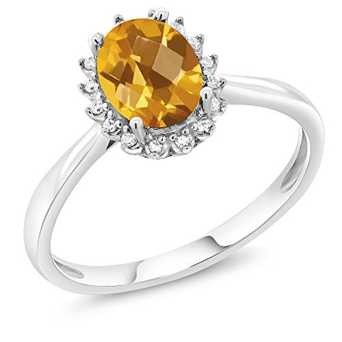 1.25 Ct Citrine Diamond - 2