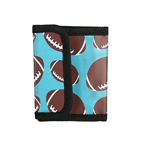 Rhode Island Novelty Kid's Sport Ball Print Trifold Wallet, Football