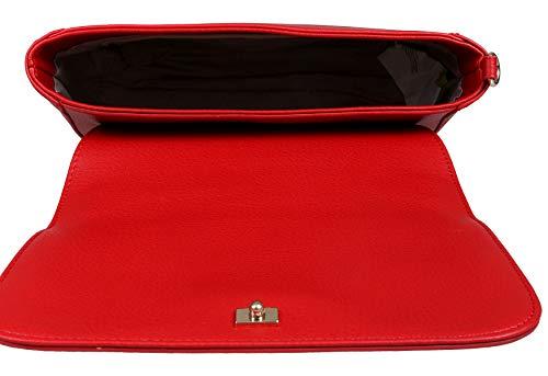 Borsa Jeans Spalla Rosso A Versace C5FwqvTv