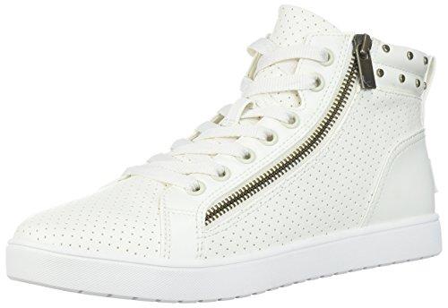 Koolaburra by UGG Women's W Kayleigh HIGH TOP Sneaker, White, 6.5 Medium US