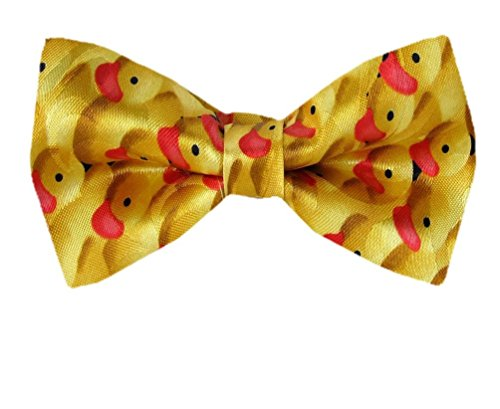 Pre Bow Yellow Tie Novelty Red Men's Tied Rqw87x85