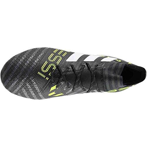 Adidas Heren Voetbal Nemeziz 17.1 Vaste Grond Klampen Zwart, Wit, Zonne-geel