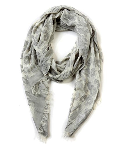 EUPHIE YING Women's Classy Cotton Scarves Fashion Shawl Wrap, Jacquard by EUPHIE YING