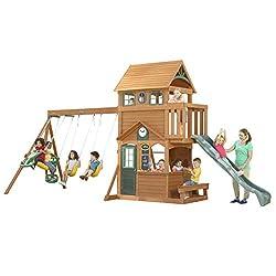 KidKraft Ashberry Cedar Wood Swing Set / Playset F23075
