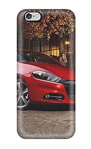 Tough Iphone Zljfffl12314qltTd Case Cover/ Case For Iphone 6 Plus(dodge Dart Red Car )
