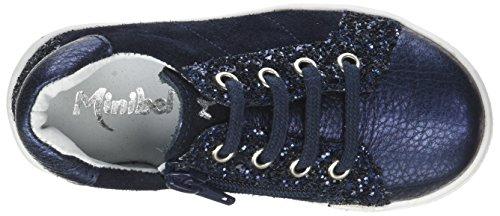 Glitter Marine Basses Fille Minibel Bleu Pixy Baskets Metal FSq8Wn4B7