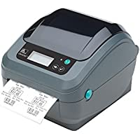 Zebra Gx420d Direct Thermal Printer - Monochrome - Desktop - Label Print - 4.09 Print Width - 6 In