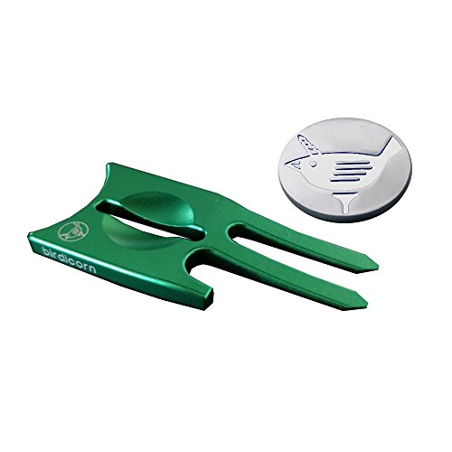 Birdicorn Divot Tool (Green w/Ball Marker)