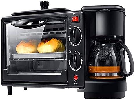 Sooiy Desayuno Máquina de Hacer Pan Máquinas de Acero Inoxidable sin Gluten máquina de Pan con Fruta Desmontable Tuerca Dispensador/Incorporado programable Máquina de Pan para Principiantes: Amazon.es