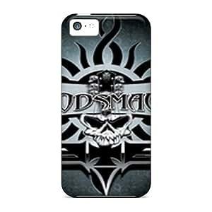 Shockproof Hard Phone Cover For Iphone 5c With Provide Private Custom Vivid Godsmack Skin CharlesPoirier