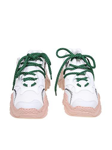 Blanco 00119sss00460040s021 N°21 Mujer Poliéster Zapatillas Ex6xwnvYq