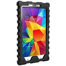 Hard Candy Cases 7-Inch Shock Drop for Samsung Galaxy Tab 4, Black (SD-SAM47-BLK-BLK)