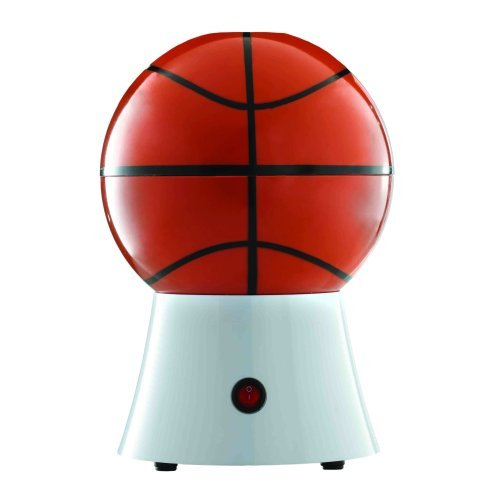 Brentwood PC-484 Basketball Popcorn Maker, 8-Inch x 7.25-Inch x 11.5-Inch, Orange by ()
