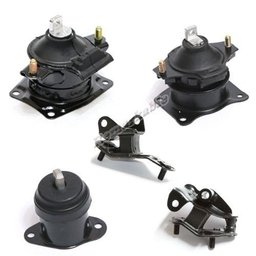 Motor New Mount Engine Acura (Remarkable Power G170 2004-08 Acura TSX Trans Engine Motor Mount Set 5 AT Trans Front & Rear)