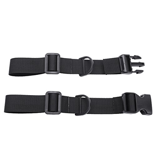 1 Pair Universal Adjustable Nylon Sternum Straps Chest Harness for Backpack