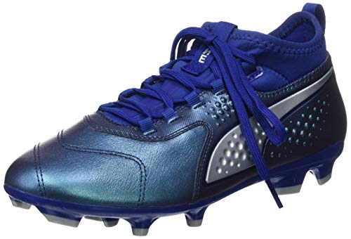 sodalite puma Fg peacoat Puma Calcio Silver Jr Da Unisex One Blue Bambini 03 Scarpe Lth – Blu 3 HHna6fwq7