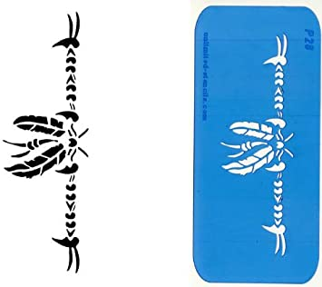 UNLIMITED STENCILS 1 Armband Airbrush Tattoo Schablone