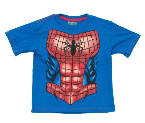 Mary Jane Costumes Spiderman (Spider-Man Marvel Comics Superhero Costume Toddler T-Shirt Tee)