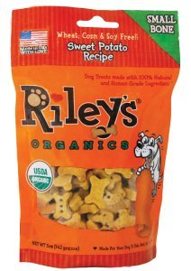 Riley's Sweet Potato Small Bone 10oz bag