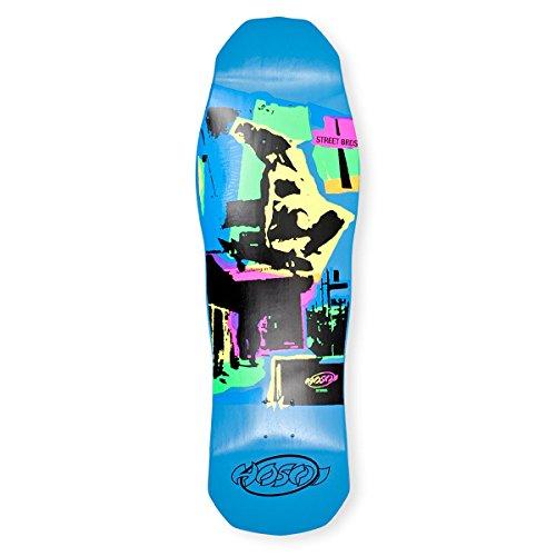 Pop Art Skateboard Deck (Hosoi Skateboards Pop Art 87 Skateboard Deck, Blue, 10 x 32.75-Inch)