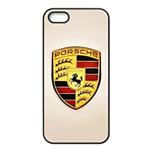 Wish-Store Luxury cars logo porsche Phone case for iPhone 5s Kimberly Kurzendoerfer