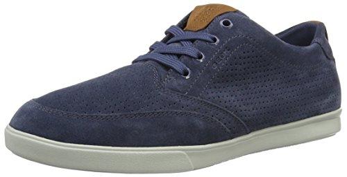 Geox Mens Sneakers U Walee B Scarpe Casual In Pelle Scamosciata Blu