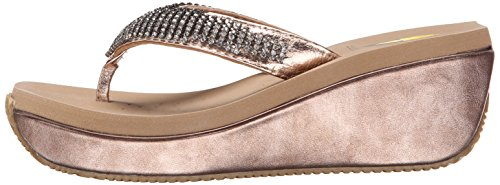f6c984d606ca Volatile Women s Fairy Dust Wedge Sandal - Import It All
