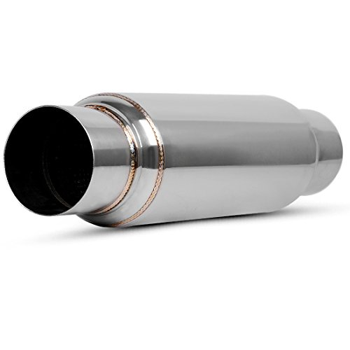 3 Inch Inlet Single Chamber Exhaust Muffler, 3