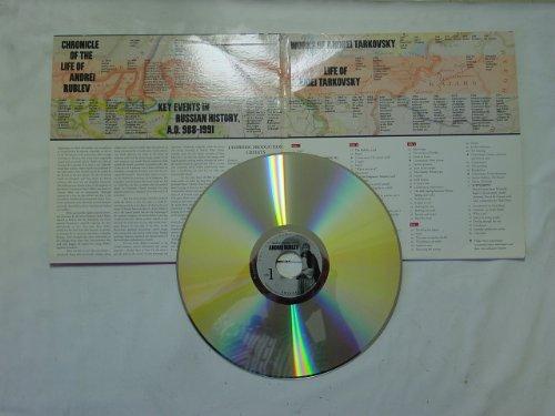 Andrei Tarkovsky's ANDREI RUBLEV 2 LD Set Classic Laserdisc