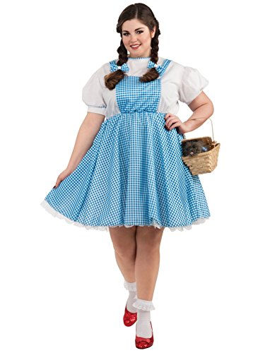 Dorothy Costume - Plus Size - Dress Size (Dorothy From Wizard Of Oz Costume)