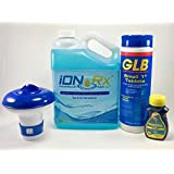 iONRx - Hot Tub Chlorine Mini Tabs Starter Kit - Keep Water at Tap Water Levels of Chlorine - Eliminate Chlorine Allergies, Sneezing, Coughing, Itching, Rashes - Sanitize Your Hot Tub and Keep Clear