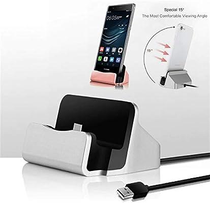 Base de Carga para Honor 20 Smartphone Tipo C Soporte Cargador de ...