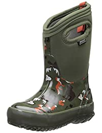 Bogs Classic Woodland Waterproof Winter and Rain Boot (Infant/Toddler/Little Kid/Big Kid)