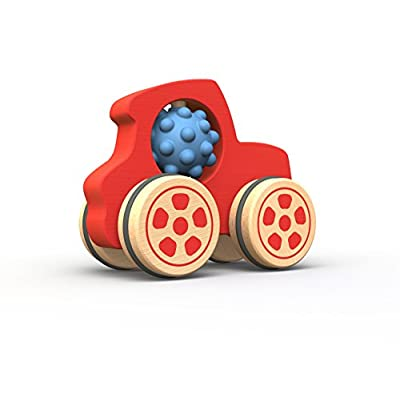 BeginAgain Nubble Rumbler Truck - Promote Imagination and Active Play - Red, Kids 18 Months and Up: Toys & Games
