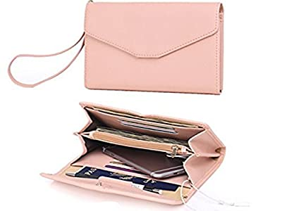 Zg Women Clutch Wallet Purse Wristlet, Passport Wallet, Cell Phone Clutch Wallet