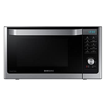 Samsung Mc11h6033ct Countertop Convection Microwave With 1 1 Cu Ft Capacity Slim