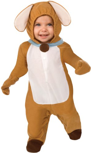 This Guy Costumes Baby's Puppy Love, Brown/White, 0-9 Months